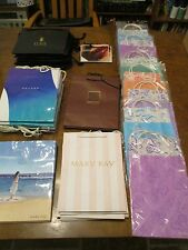 Mary Kay Bag Lot over 60 some with tissue/rare