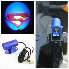 3D Superman Logo Motorcycle Electric Bike LED Laser Ghost Shadow Projector Light