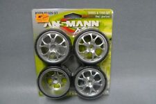 1:10 Ansmann 211000075 Reifen-Felgen-Set Dubstar Chrome - Wheel & Tyre Set