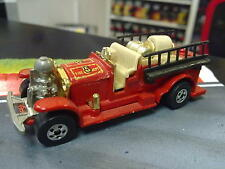 Hot Wheels Old Numbers 5 Fire Truck