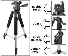 "57"" Pro Series Tripod With Case For Nikon Coolpix L120 S1200pj AW100 L25 S800c"