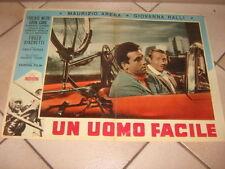 Maurizio Arena UN UOMO FACILE TIBERIO MITRI 1959 Boxe FOTOBUSTA