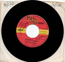 PATTY PRAVO disco 45 giri SENTIMENTO + GLI OCCHI DELL'AMORE made in ITALY 1968