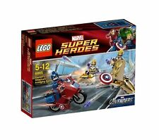LEGO MARVEL Avengers Super Heroes Captain America's Avenging Cycle 6865