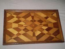 VINTAGE antico, in legno vassoio... mozzafiato questo design, RESTAURO PROGETTO