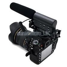 Pro Anti-shock DV Stereo Microphone Mic for Canon DSLR 5DII 3 7D D800 D7000