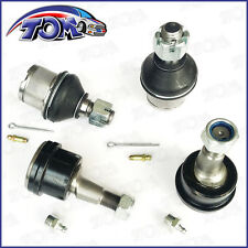 NEW 4WD 03-10 DODGE RAM 2500 3500 4 FRONT LOWER & UPPER ADJUSTABLE BALL JOINTS