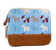 Scottie Dog I-Pad Bag - Blue - Brand New