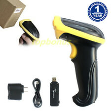 2.4GHz USB Wireless Handheld Visible Laser POS Cordless Barcode Scanner Reader