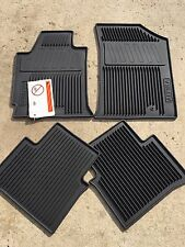 NEW OEM NISSAN 2008-2012 ALTIMA RUBBER FLOOR MAT SET - SLUSH MATS - 4 PC SET