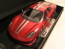 Super Elite Ferrari 430 Scuderia red 1/18 L7121 no BBR MR Kyosho APM Versus GMP