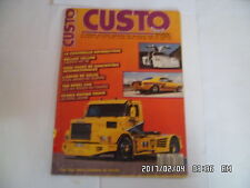 CUSTO MANIA N°50 07/1988 COCCINELLE CAMARO RS 68 CAMARO 350 WILLYS 41    K27