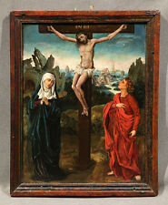 Circle Of Dieric Bouts the Younger Jesus on Cross