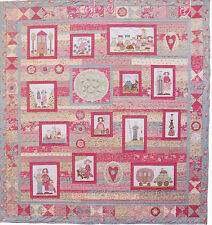 A Family Gathering - pieced, applique & stitchery quilt PATTERN