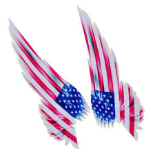 USA American Flag Wing Emblem Badge Car Door Bumper Window Sticker Decal Decor