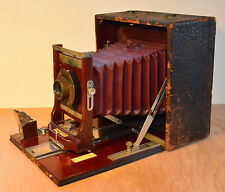 conley 4x5 wood box camera