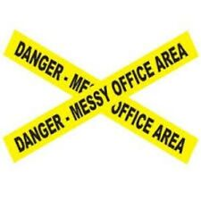 Danger - Messy Office Area Barricade Tape - Gags,Pranks- Halloween - 15 Feet!