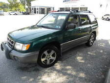 Subaru: Forester 4dr S