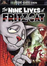 The Nine Lives of Fritz the Cat (DVD, 2001, Avant-Garde Cinema)