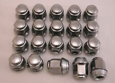 20 New Dodge Caravan Intrepid Stratus Neon Factory OEM Stainless Lug Nuts 12x1.5