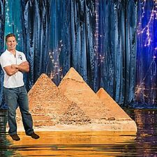 PYRAMIDS STANDEE  * egypt * egyptian party decorations *
