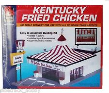 HO Scale Walthers Life-Like 433-1394 Kentucky Fried Chicken Drive-In Kit