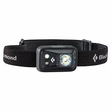 Black Diamond Spot Headlamp 200 Lumens Matte Black LED Flashlight Torch & Strobe