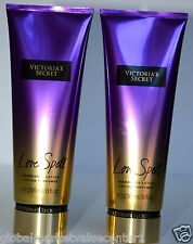 2 Victoria`s Secret VS LOVE SPELL FRAGRANCE LOTION 8fl OZ CHERRY BLOSSOM PEACH