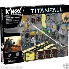 K'NEX TITANFALL ANGEL CITY ESCAPE BUILDING SET 541PCS KN69505