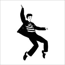 Elvis Presley Dancing Music Wall Decal Sticker Home Decor Vinyl Bedroom Art