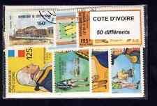 Côte d'Ivoire - Ivory Coast 50 timbres différents