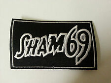 PUNK ROCK METAL MUSIC SEW ON / IRON ON PATCH:- SHAM 69
