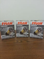 Lot of 3 Fram Tough Guard TG7317 Oil Filters Free Shipping