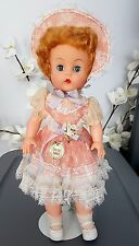 "Vintage Tickletoes 1953 Doll By Reliable, Canada 17"" Stuffed Vinyl / Rubber VHTF"