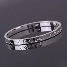TI amo il regalo di Natale gioielli Bracciale in argento 925 Womens 1pc