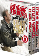 Extreme Fishing . The Complete Season 1 2 3 . Robson Green . Angeln .. 9 DVD NEU