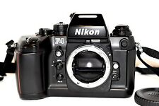 Nikon F4 35mm SLR Film Camera with MF-23 Data Back [Excellent+] from Japan(No64)