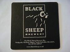 BEER Bar COASTER ~ BLACK SHEEP Brewery ~ North Yorkshire, ENGLAND ** Boar's Head