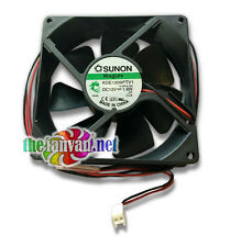 """ADDA AD0912HB-A70GL 92mm x 25mm 2 pin 12v All Purpose Fan w/ 42"""" Leads NEW"""