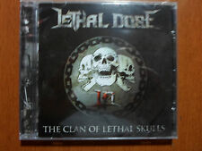 Lethal Dose - The Clan of Lethal Skulls  Braz Old School Power Metal RARE