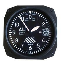 "Aviation Style Wall Clock- 10"", Altimeter Style, Pilot Cave, Hanger  OFF-0108"