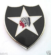 *** 2ND INFANTRY DIVISION ***  Military Veteran US ARMY Hat Pin 14854 HO