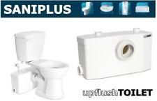 Saniflo SaniPLUS | Macerating Upflush Toilet Kit | Pump + Standard + Extension