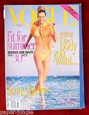 Vogue Magazine ~ May 1996 ~ Niki Taylor Eva Herzigova Nadja Auermann