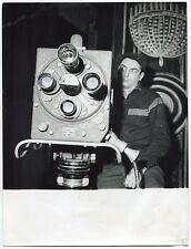 Photo Raoul Saguet - Tournage Camera - Tirage argentique d'époque 1960 -