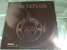 Sealed 1976 Funk Soul LP : Ted Taylor ~ Self Titled ~ Alarm LP 1000 Stereo