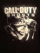 Call of Duty Ghosts Black T-shirt S 100% Cotton