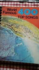 World Famous top 400 Songs: C Instruments Contemporary Television motion picture