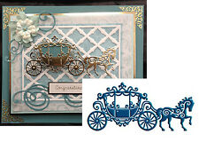 Princess Die LACE CARRIAGE D231 Tattered Lace Dies Wedding Fairytale Horse