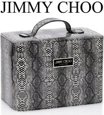 100%AUTHENTIC Ltd Edition JIMMY CHOO SNAKESKIN MAKEUP~Beauty~STORAGE TRAVEL CASE